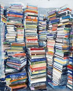 Thomas Hartmann, 'Bucher (Vertikal) [Books (Vertical)]', 2016