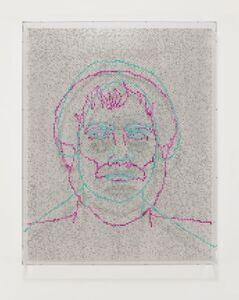 Charles Gaines, 'Faces 1: Identity Politics, #2, Maria W. Stewart', 2018
