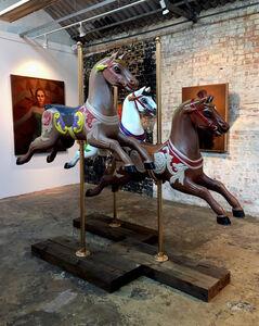 Evoca1, 'Carousal Horse Sculpture', 2018