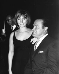 Murray Garrett, 'Barbara Streisand and Bob Hope meet for the first time when she guested on his TV Special', ca. 1963