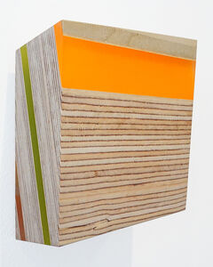 Michelle Benoit, 'Pyrite Paisley Series: Orange Horizontal', 2019