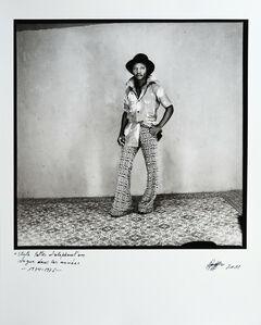 Ambroise Ngaimoko, 'Robert un jeune homme dans le vent.', 1973