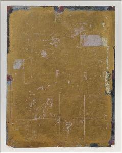Antonello Viola, 'Oro su blu oltremare scuro e rosso', 2017