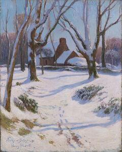 Henry Moret, 'Neige en Bretagne', 1892