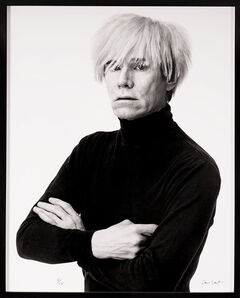 Andrew Unangst, 'Portrait of Andy Warhol in Black and White (1985/2017)', 1985