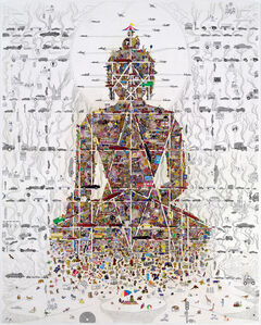 Gonkar Gyatso, 'Buddha in Our Time', 2010