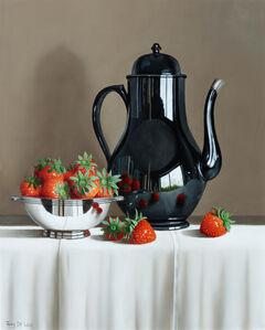 Tony de Wolf, 'Fallen Strawberries Reflected'
