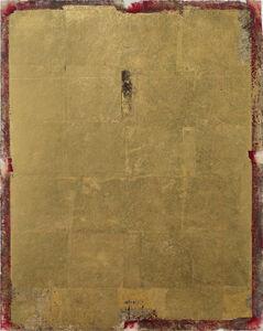 Antonello Viola, 'Oro su rosso di cadmio chiaro', 2017