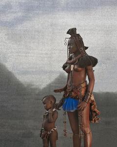Christopher Rimmer, 'Ovahimba Mother & Child, Southern Angola', 2015