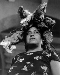 Graciela Iturbide, 'Nuestra Señora de las Iguanas, Juchitán', 1979