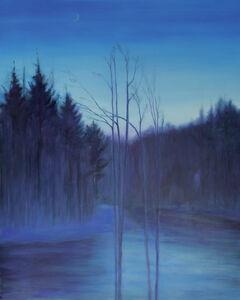 Jim Schantz, 'River Twilight, Crescent Winter', 2020