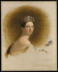 Thomas Sully, 'Queen Victoria', 1838