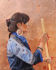Thu Nguyen, 'The Black Hmong Princess', ca. 2017