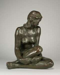 Fritz Klimsch, 'Seated Nude', Conceived 1948 and cast within the artist's lifetime.
