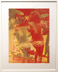 Marco Pittori, 'Orange Swimming Pool (framed)', 2016