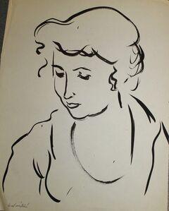 Anna Walinska, 'Portrait of a Woman', 1930