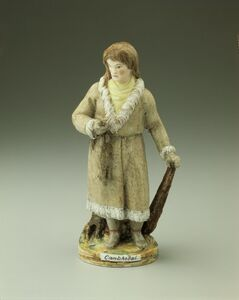 Imperial Porcelain Factory, 'Man from Kamchatka', ca. 1810