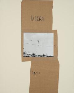 John Gossage, 'Dicks S Dicks', 1989