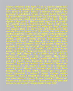 Karl Haendel, 'Preguntas a Mi Padre', 2014