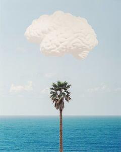 John Baldessari, 'Brain / Cloud (With Seascape and Palm Tree)', 2009