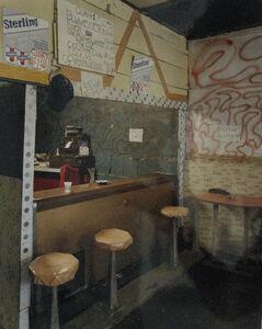 Birney Imes, 'Evening Star Lounge, Falcon', 1984