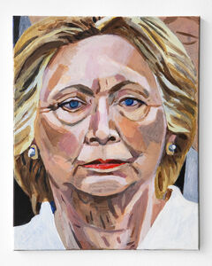 Woodrow White, 'Hillary Clinton', 2017