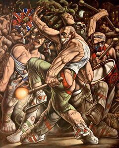 Peter Howson, 'Jupiter Tonans', 2020