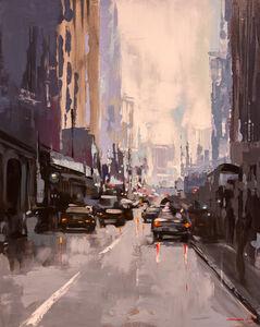 Mercedes Bravo, 'Urban Street Scene', 2017