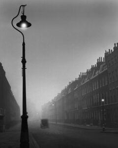 René Groebli, 'London, Lonely Street with Car, London (no. 1208)', 1949