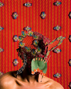 Siwa Mgoboza, 'Les Êtres D' Africardia  I', 2015
