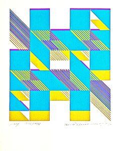 Burton Wasserman, 'Untitled Geometric Abstraction', 1977-1978