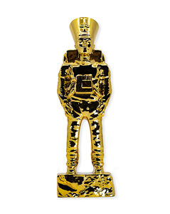 Imbue, ''Ancient Astronaut Nefertiti' (gold)', 2020