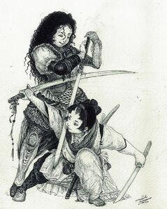 Maiko Kitagawa, 'Sword Fighting', 2009