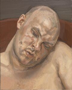 Lucian Freud, 'Leigh Bowery', 1991