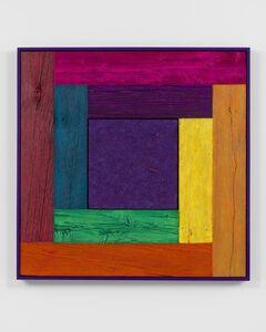 Douglas Melini, 'Untitled, (tree painting/spectrum-purple)', 2019