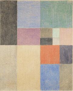 Sophie Taeuber-Arp, 'Composition verticale-horizontale', 1916