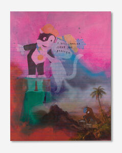 Friedrich Kunath, 'I will Forever Love you Forever (Fart)', 2015