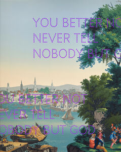 Nathan Coley, 'You Better Not', 2019