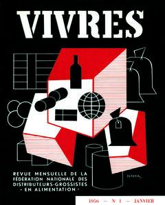 Lucien De Roeck, 'Vivres, 01', 1956