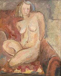 Hans Burkhardt, 'The Artist's Wife', 1930