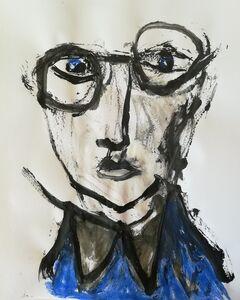 Pascal Briba, 'Plus Bleu...', 2018
