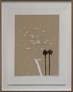 Brett Whiteley, 'Lavender Bay in the Rain', 1987