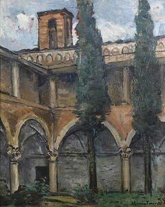 Horacio Torres, 'Claustro de Iglesia de Parma', 1957