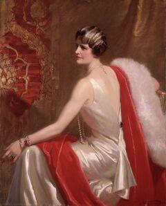 Frank O. Salisbury, 'Portrait of Marjorie Merriweather Post', 1934