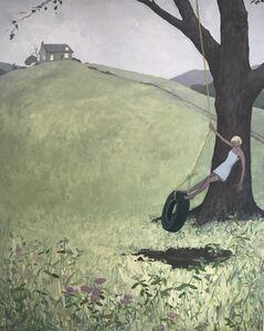 KK Kozik, 'Tire Swing', 2019