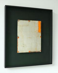 Antonello Viola, 'Oro bianco su oxide orange 1', 2018