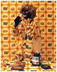 Liliana Angulo Cortés, 'Negro Utopico', 2001