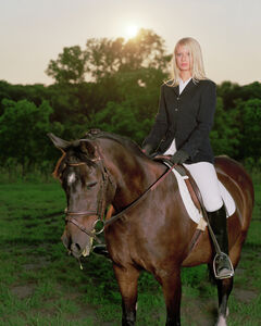 Angela Strassheim, 'Untitled (Ashley on her Horse)', 2006