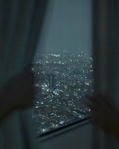 Alec Soth, 'Park Hyatt Hotel, Tokyo (curtains)', 2015