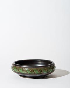 Emile Lenoble, 'Low Bowl', ca. 1930